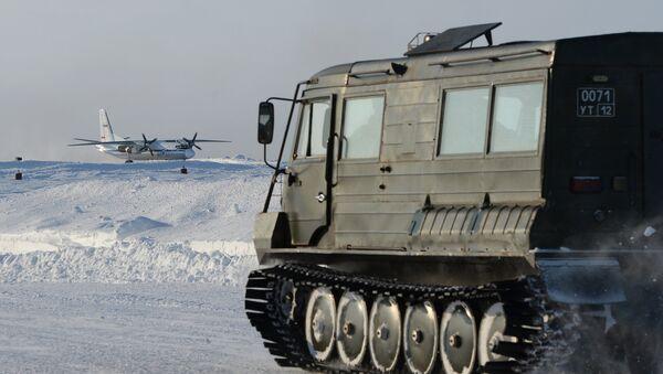 Vojna tehnika na Arktiku - Sputnik Srbija