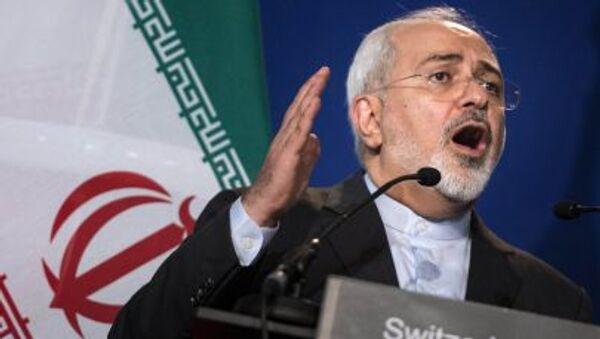 Šef diplomatije Irana Muhamed Džavad Zarif - Sputnik Srbija
