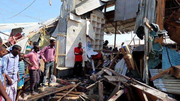 Eksplozija bombe na pijaci u Somaliji - Sputnik Srbija