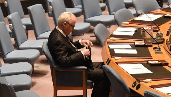 Stalni predstavnik Rusije u UN Vitalij Čurkin - Sputnik Srbija