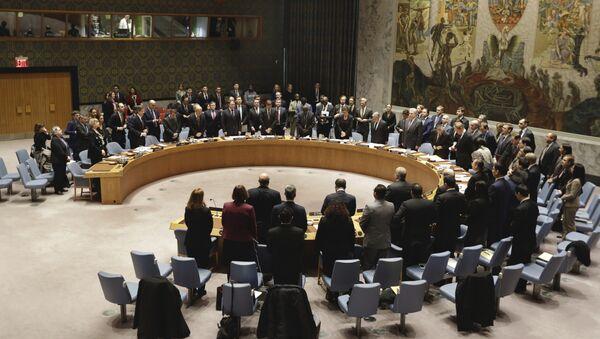 Савет безбедности УН током минута ћутања за амбасадора Русије Виталија Чуркина - Sputnik Србија