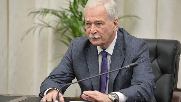 Ovlašćeni predstavnik Rusije u kontakt grupi za Ukrajinu, Boris Grizlov - Sputnik Srbija