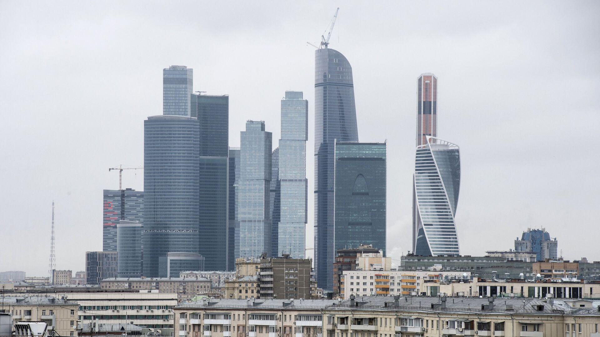 Zgrade - petospratnice pored Međunarodnog poslovnog centra Moskva-siti - Sputnik Srbija, 1920, 04.10.2021