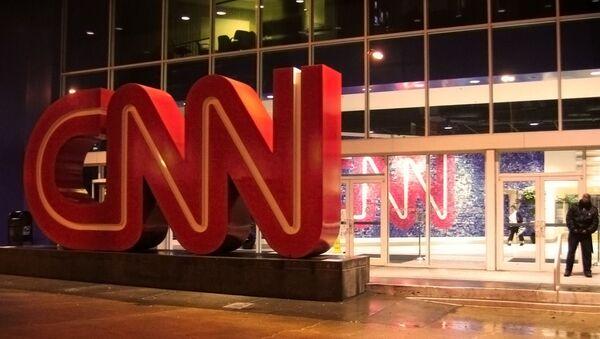 Зграда телевизије CNN у Атланти - Sputnik Србија