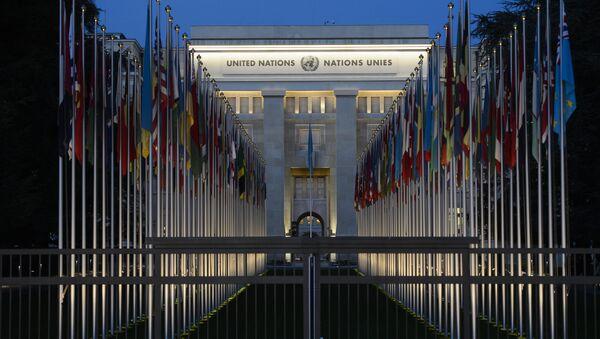 Zgrada Ujedinjenih nacija u Ženevi - Sputnik Srbija