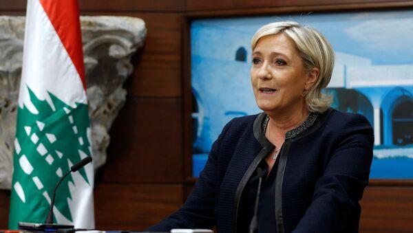 Lider francuske stranke Nacionalni front Marin Le Pen - Sputnik Srbija