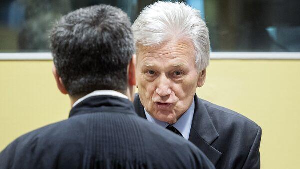 General Momčilo Perišić u Haškom tribunalu. - Sputnik Srbija