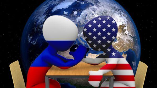 Русија и САД - илустрација - Sputnik Србија