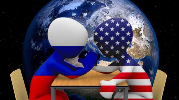Rusija i SAD - ilustracija - Sputnik Srbija