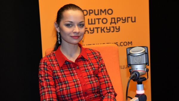Сликарка с Крима Ксенија Симонова - Sputnik Србија