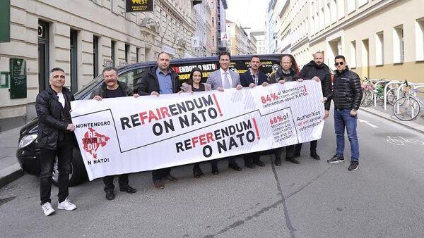 Referendumski karavan u Beču - Sputnik Srbija