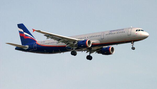 Авион компаније Аерофлот А321 - Sputnik Србија