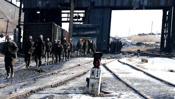 Rudari rudnika S. M. Kirov kompanije Makejevugalj - Sputnik Srbija