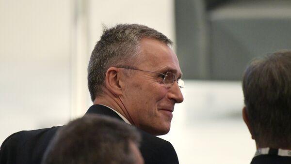 Generalni sekretar NATO-a Jens Stoltenberg na 53. Minhenskoj konferenciji o bezbednosti - Sputnik Srbija