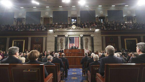Доналд Трамп у Конгресу САД - Sputnik Србија