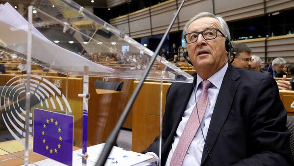 Predsednik Evropske komisije Žan Klod Junker u Evropskom parlamentu - Sputnik Srbija