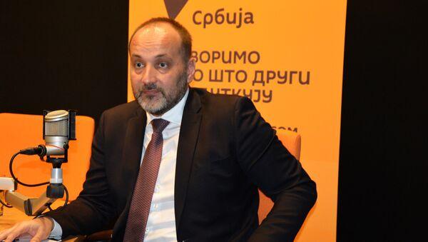 Predsednički kandidat Saša Janković - Sputnik Srbija