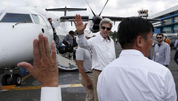 Džon Keri u poseti Vijetnamu - Sputnik Srbija
