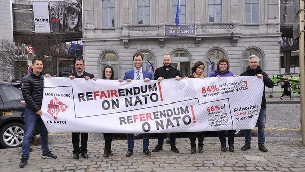 Referendumski karavan u Briselu - Sputnik Srbija