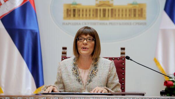 Predsednica Skupštine Srbije Maja Gojković  - Sputnik Srbija