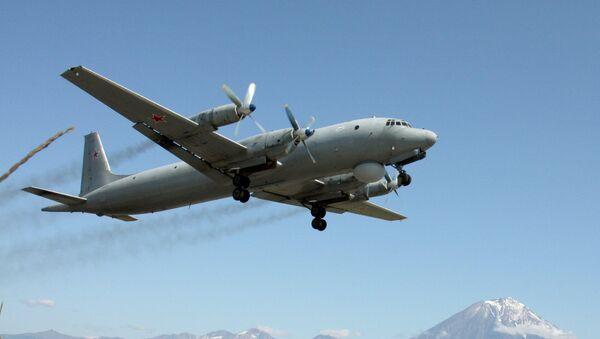 Protivpodmornički avion Il-38 tokom vojnih vežbi Tihookeanske flote na Kamčatki - Sputnik Srbija