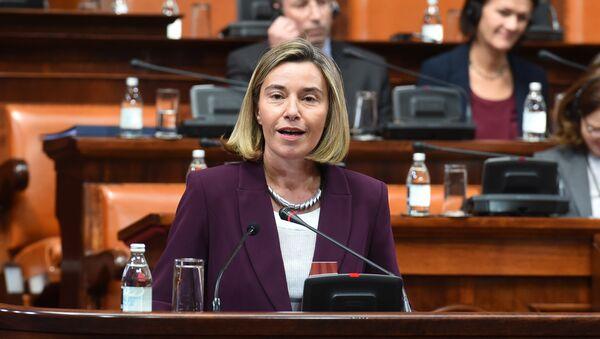 Federika Mogerini u Skupštini Srbije - Sputnik Srbija