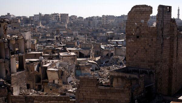 Рушевине у Алепу, Сирија, 2, фебруар 2017. - Sputnik Србија