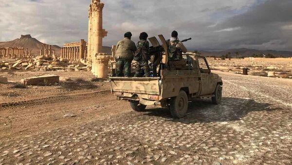 Sirijska vojska u Palmiri - Sputnik Srbija