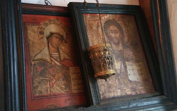 Породична икона и кандило породице Берберијан-Ристић - Sputnik Србија