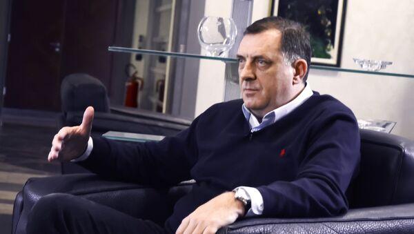 Председник Републике Српске Милорад Додик - Sputnik Србија
