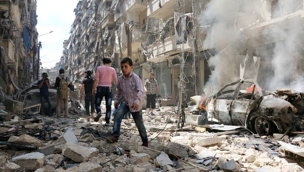 Рушевине Алепа - Sputnik Србија
