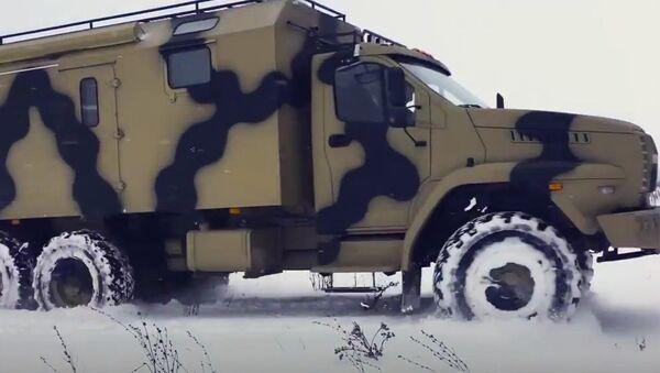 Нетипично теренско возило Урал - Sputnik Србија