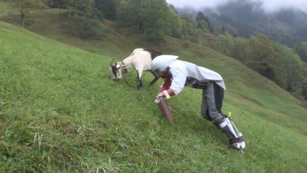 Čovek koza - Sputnik Srbija