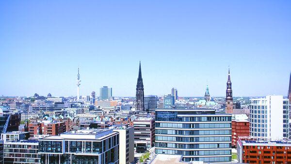 Панорама Хамбурга, Немачка - Sputnik Србија