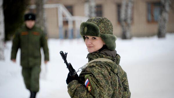 Припадница женске трупе на такмичењу у Переслављу - Sputnik Србија