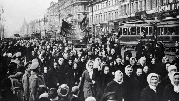 Demonstracije žena 1917. godine - Sputnik Srbija