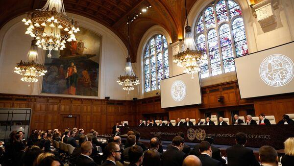 Međunarodni sud pravde u Hagu tokom rasprave između Ukrajine i Rusije - Sputnik Srbija