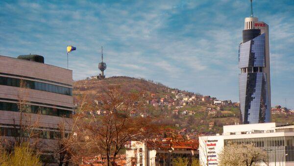 Застава БиХ у Сарајеву - Sputnik Србија
