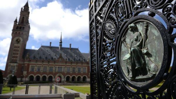 Palata mira u Hagu - sedište Međunarodnog suda UN i Stalnog arbitražnog suda - Sputnik Srbija