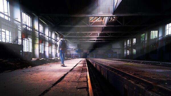 Напуштена фабрика - Sputnik Србија