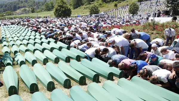 Гробље у Сребреници - Sputnik Србија
