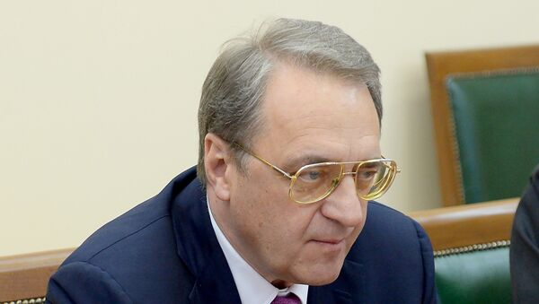 Zamenik ministra spoljnih poslova Rusije Mihail Bogdanov. - Sputnik Srbija