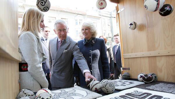 Британски принц Чарлс у посети Новом Саду - Sputnik Србија