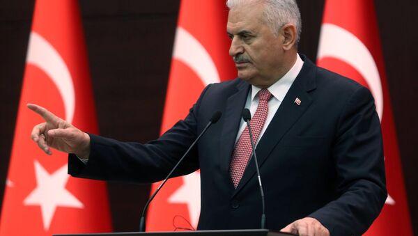 Premijer Turske Binali Jildirim - Sputnik Srbija