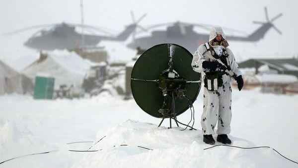 Ruski padobranci na ostrvu Kotelni - Sputnik Srbija