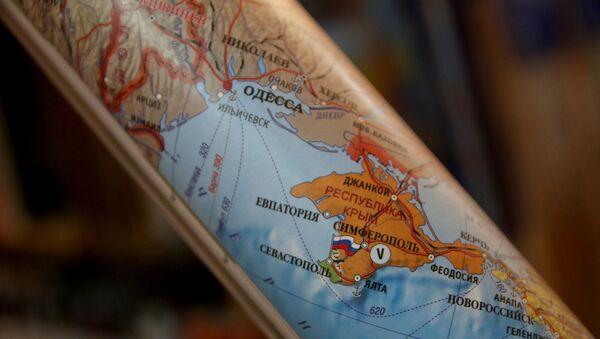 Политичка карта Европе са Кримом као делом Русије - Sputnik Србија