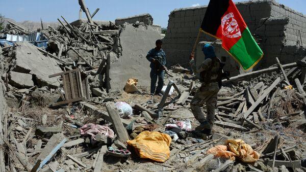Uništene zgrade u Avganistanu - Sputnik Srbija
