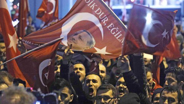 Митинг Ердоганових присталица - Sputnik Србија