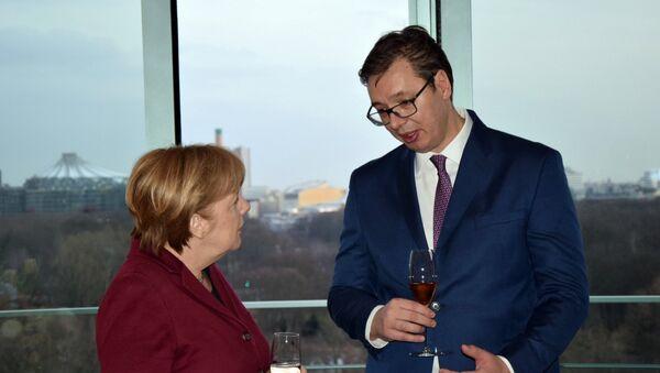 Ангела Меркел и Александар Вучић - Sputnik Србија