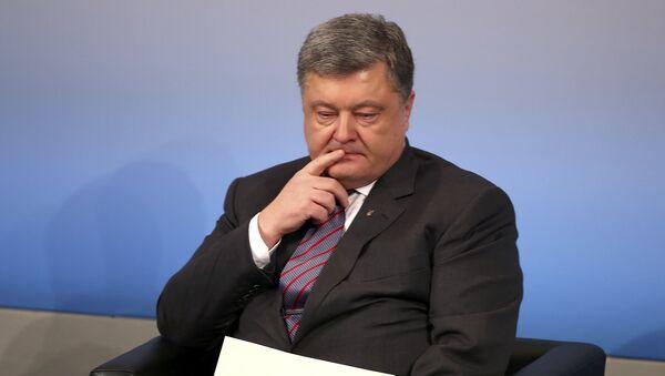 Predsednik Ukrajine Petro Porošenko na Konferenciji o bezbednosti u Minhenu - Sputnik Srbija